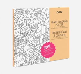 OMY | Giant Coloring Poster | Home