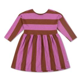 Repose Ams   Easy Dress   Orchid Block Stripe