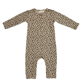Blossom Kids | Playsuit Animal Dot | Warm Sand
