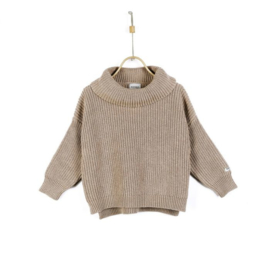 Donsje Amsterdam   Yara Sweater   Light Mocha Melange