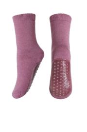 MP Denmark | Wollen antislip sokken  | 714 Dark Rose Grey