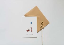 Kaart | Nadine Illustraties | Happy Birthday