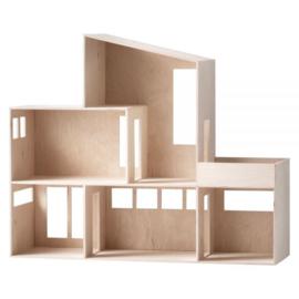 Ferm Living Miniature funkis house - hout