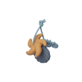 Liewood | Tonk Mini Teether - 3 Pack | Blue Multi Mix
