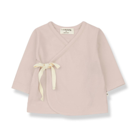 1+ in the Family | Babette Newborn Shirt | Nude