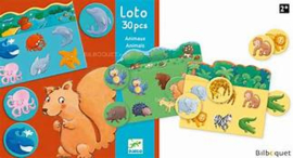 Djeco | Educational games | Animals lotto