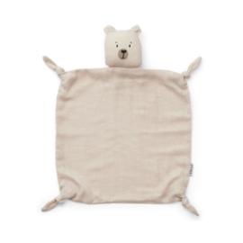 Liewood | Agnete Cuddle Cloth | Polar Bear | Sandy