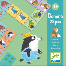 Djeco | Educational games | Domino animals