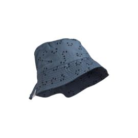 Liewood   Sander Bucket Hat   Panda Blue Wave