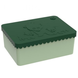 Blafre | Lunch Box | Bear | Dark Green - Light Green