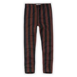 Sproet & Sprout   Pants Painted Stripe   Black - Chocolate