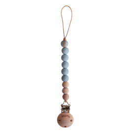 Mushie | Speenketting Cleo | Stone - Wood