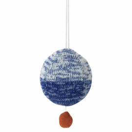 Ferm Living | Knitted music mobile blauw