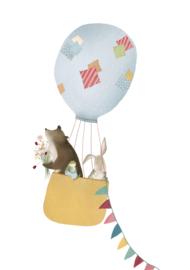Getekenddoorzusje | Luchtballon Geel