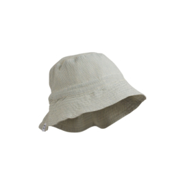 Liewood   Sander Bucket Hat   Stripe Sea Blue - Creme De La Creme