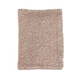 Mies & Co   Subtile Honeycomb Blanket   Baby Crib   Blossom Powder