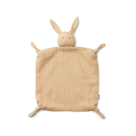 Liewood | Agnete Cuddle Cloth | Rabbit smoothie yellow