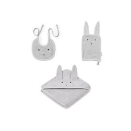 Liewood | Adele Terry Baby Package | Rabbit | Dumbo Grey
