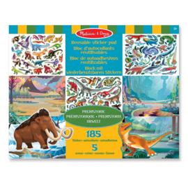 Melissa & Doug I Stickerboek met herbruikbare stickers I Prehistorie