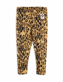 Mini Rodini basic Leopard legging Beige