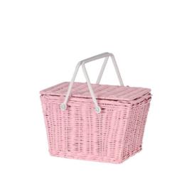 Olli Ella Picknick basket  roze