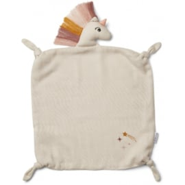 Liewood | Agnete Cuddle Cloth | Unicorn | Sandy
