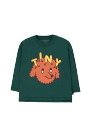 Tiny Cottons | Tiny Dog Tee | Dark Green - Sienna