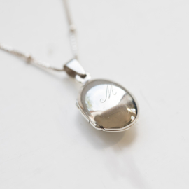 Lennebelle | Nest Locket | Necklace Silver