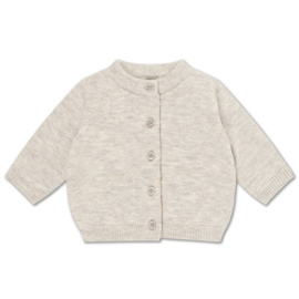 Repose Ams | Knit Cardigan | Light mixed grey