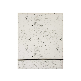 Mies & Co | Baby Crib Sheet | Galaxy Offwhite