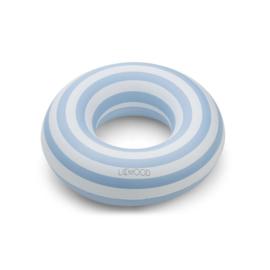 Liewood | Baloo Swim Ring | Stripe | Sea Blue - Creme De La Creme