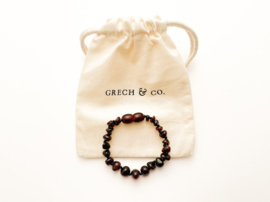 Grech & Co   Baltic Amber   Children's Bracelet   Wisdom