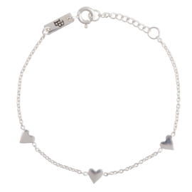 Lennebelle | You are loved bracelet silver daughter