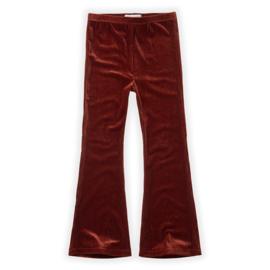 Sproet & Sprout   Pants Velvet Flair   Beet Maroon