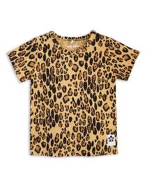 Mini Rodini | Basic Leopard SS Tee | Beige