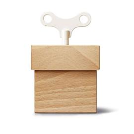 Siebensachen | Musical box | Musicbox | Beech | Met gouden sleutel