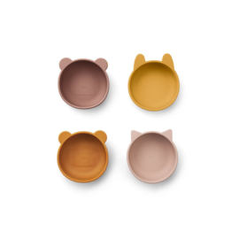 Liewood | Iggy Silicone Bowls | Rose mix