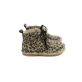 Mockies | Kids boots | Leopard Grey