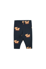 Tiny Cottons | Foxes Pants | Navy - Camel