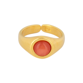 & Anne | Ring Coral