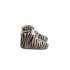 Mockies Classic Boots | Zebra