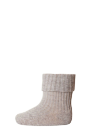 MP Denmark | Anklesock 2/2 Pad Baby | 489 Light Brown Mel