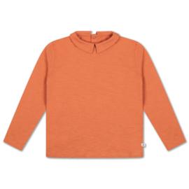 Repose Ams   T-Shirt with Collar   Burnt Autumn