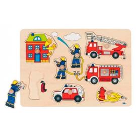 Noppen puzzle   Brandweer