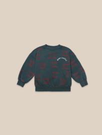 BoboChoses | Bobo Choses All Over Sweatshirt | Atlantic Deep