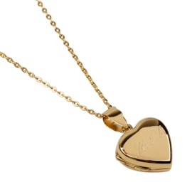 Lennebelle | Motherlove Locket | Necklace Plated Gold