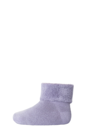 MP Denmark | Ankle Cotton Plain Socks | 1458 Soft Lavender