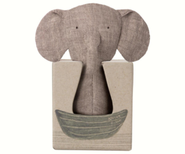 Maileg | Noahs Friends | Elephant Rattle