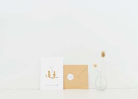 Kaart | Nadine Illustraties | Welcome little one