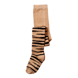 Maed for Mini | Tights | Brown Tiger